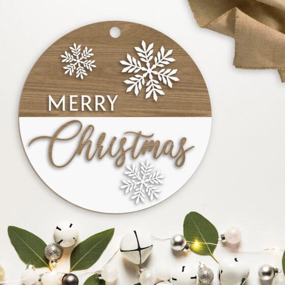 Ghirlanda Natalizia Merry Christmas