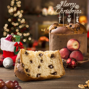 Cake Topper per Panettone Pandoro Torta Dolce