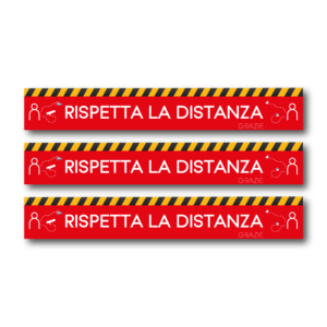 adesivi calpestabili distanza di sicurezza