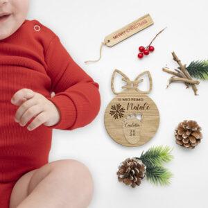 Pallina personalizzata il mio primo Natale